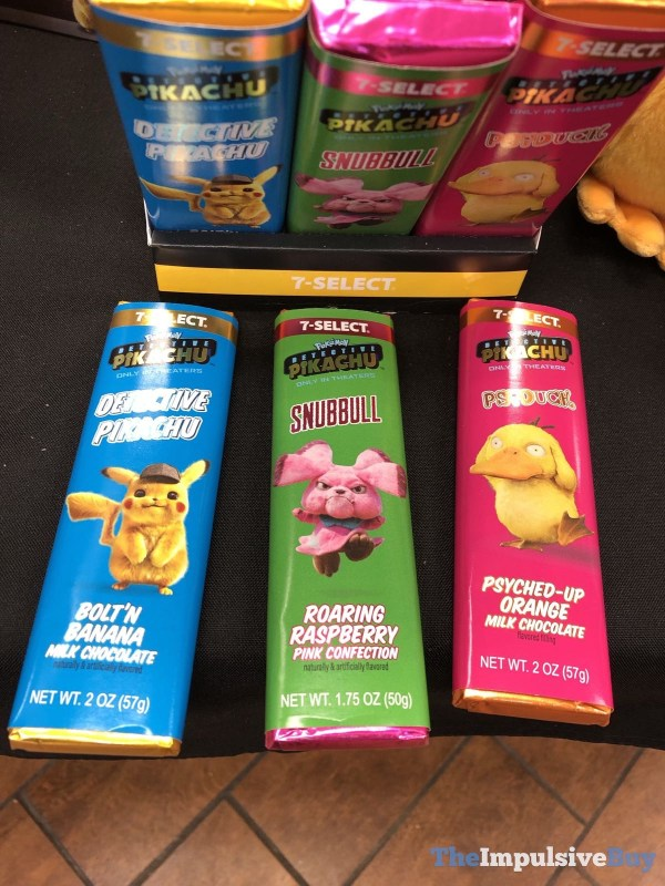 Spotted 7 Select Pokemon Detective Pikachu Candy Bars The