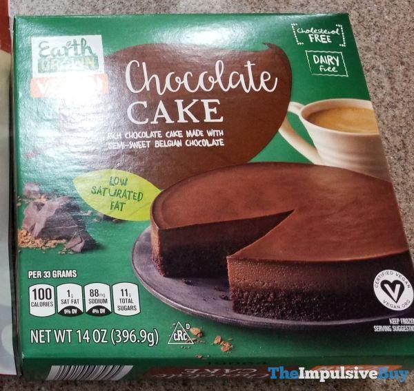Aldi Earth Grown Vegan Chocolate Cake