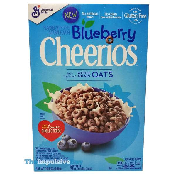 Blueberry Cheerios Cereal