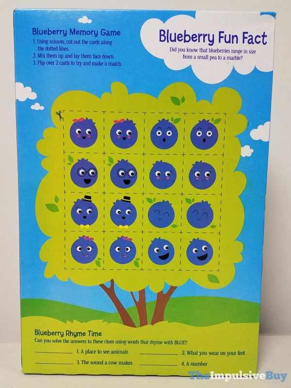 Blueberry Cheerios Cereal Games