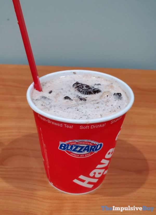 Dairy Queen Oreo Cookie Jar Blizzard
