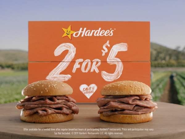 Hardees Roast Beef