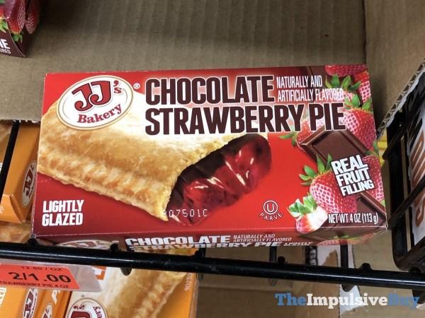 JJ s Bakery Chocolate Strawberry Pie