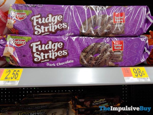 Keebler Special Batch Dark Chocolate Fudge Stripes Cookies