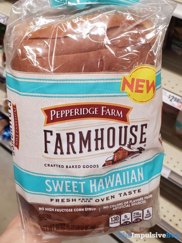 Pepperidge Farm Farmhouse Sweet Hawaiian Bread