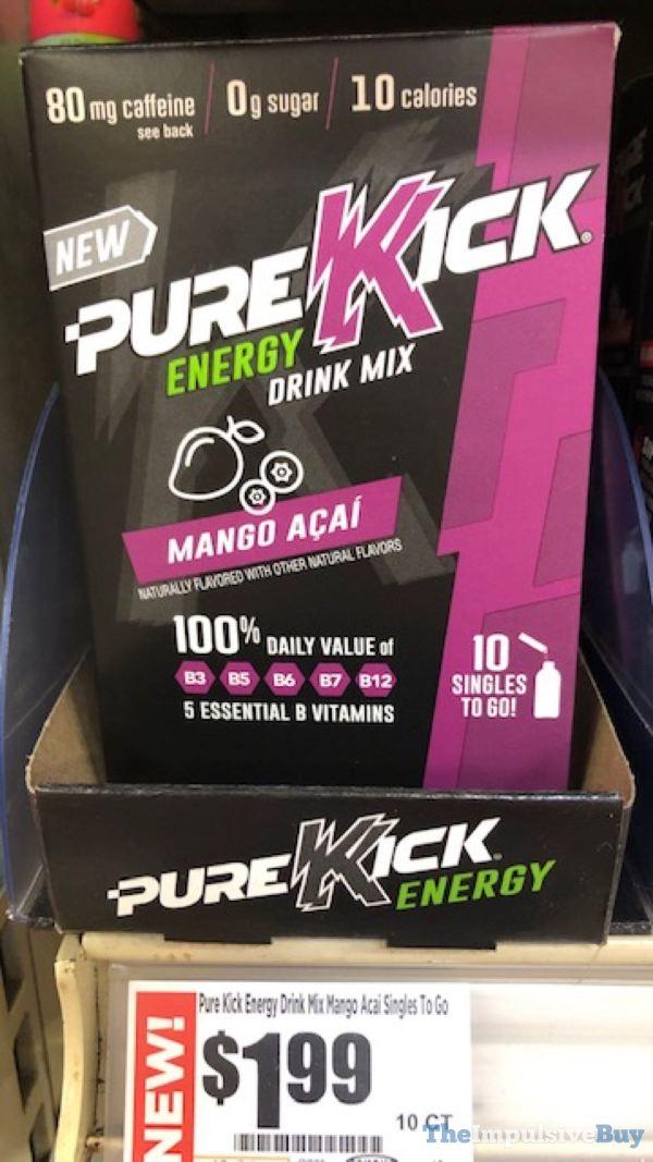 Pure Kick Energy Mango Acai Drink Mix