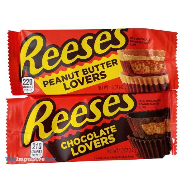 Reese s Chocolate Lovers and Peanut Butter Lovers  2019