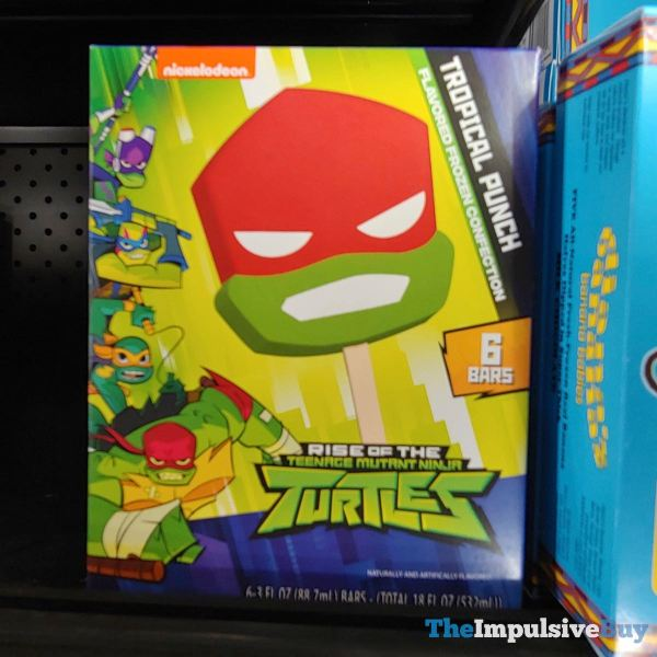 Rise of the Teenage Mutant Ninja Turtles Tropical Punch Frozen Confection Bar