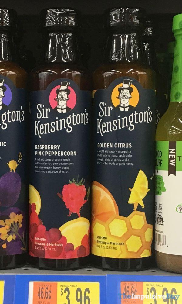 Sir Kensington s Dressing  Marinade Raspberry Pink Peppercorn and Golden Citrus