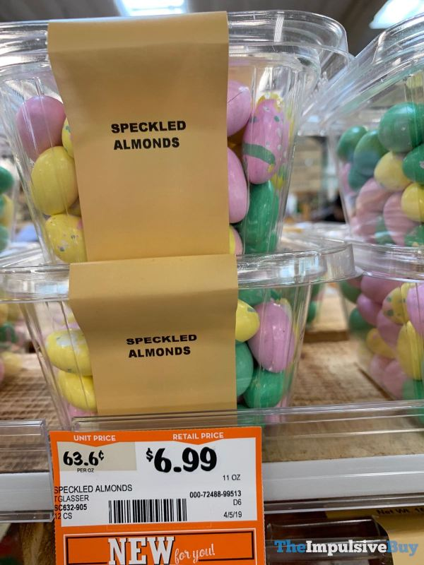 Sprouts Bulk Speckled Almonds