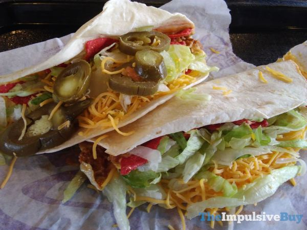 Taco Bell Loaded Nacho Taco  1