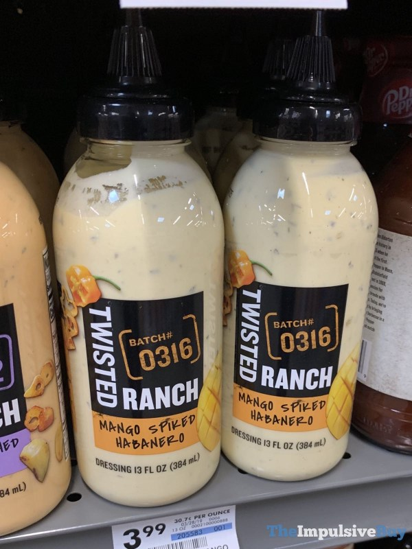 Twisted Ranch Mango Spiked Habanero Dressing