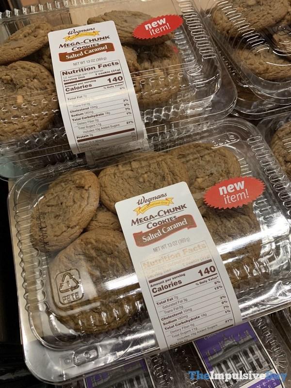 Wegmans Salted Caramel Mega Chunk Cookies