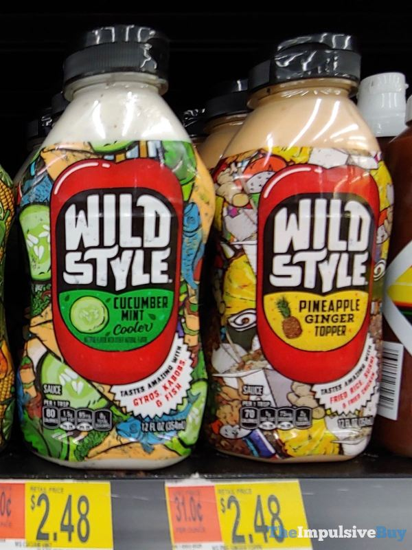 Wild Style Sauces  Cucumber Mint Cooler and Pineapple Ginger Topper