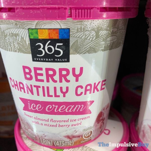 365 Everyday Value Berry Chantilly Cake Ice Cream