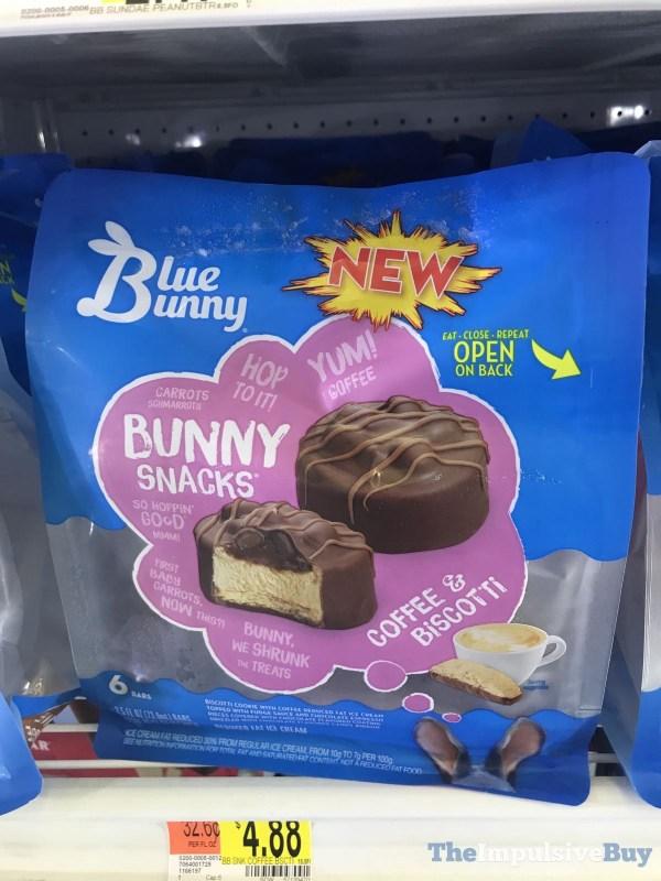 Blue Bunny Coffee  Biscotti Bunny Snacks