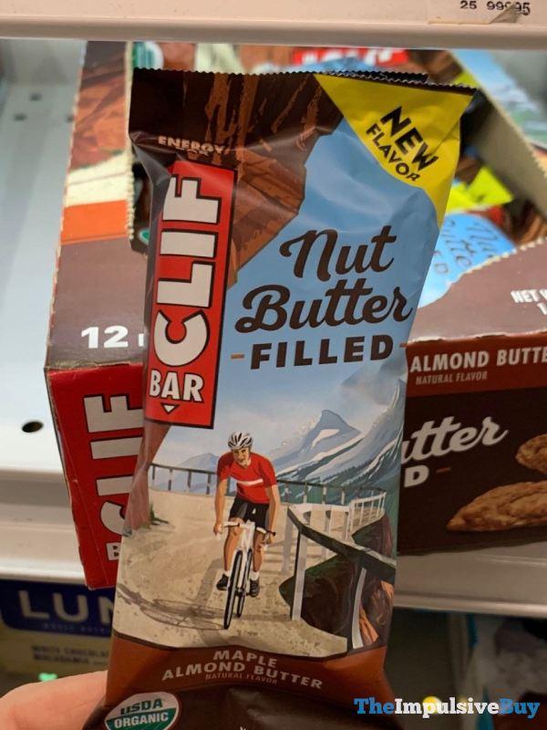Clif Bar Nut Butter Filled Maple Almond Butter