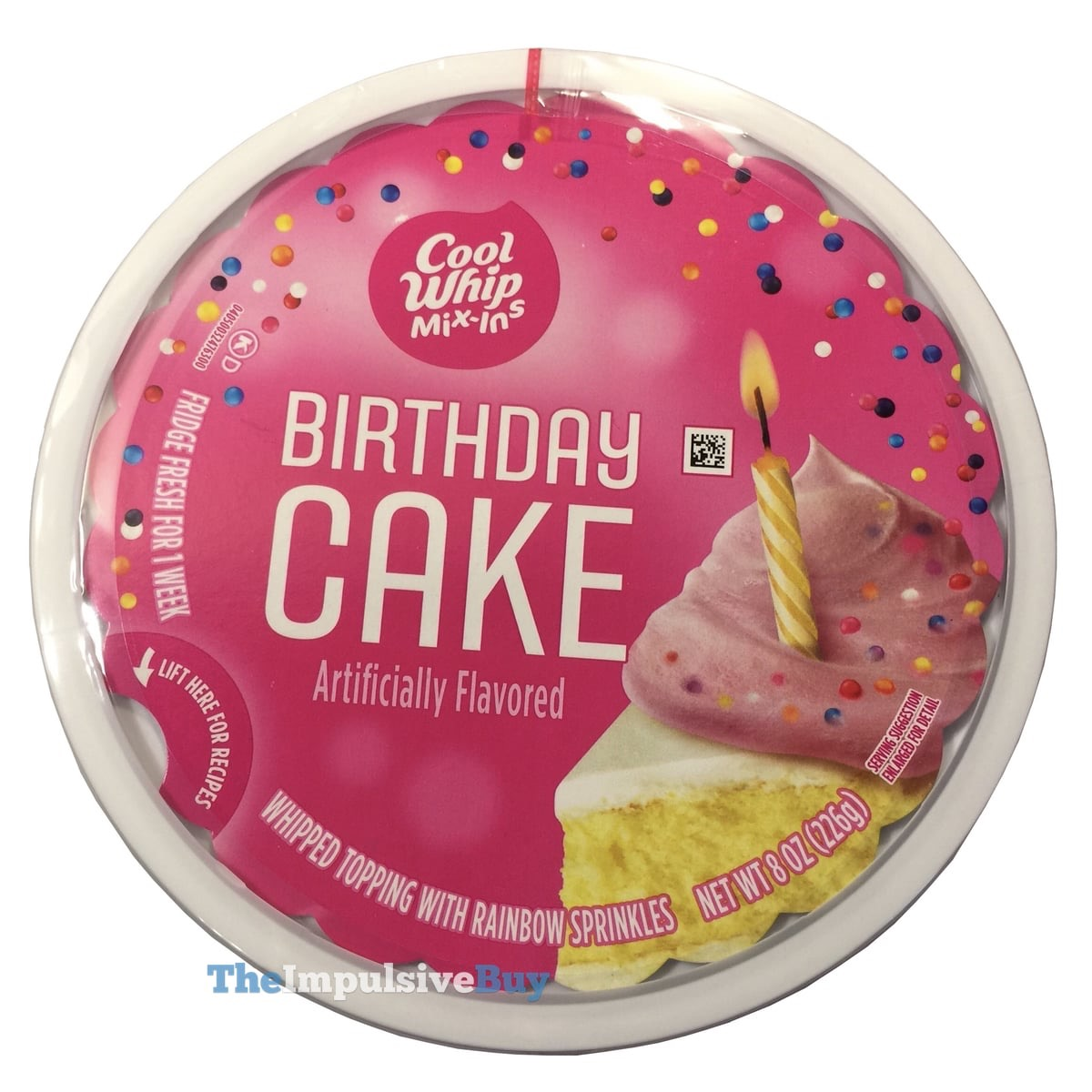 Review Cool Whip Mix Ins Birthday Cake The Impulsive Buy