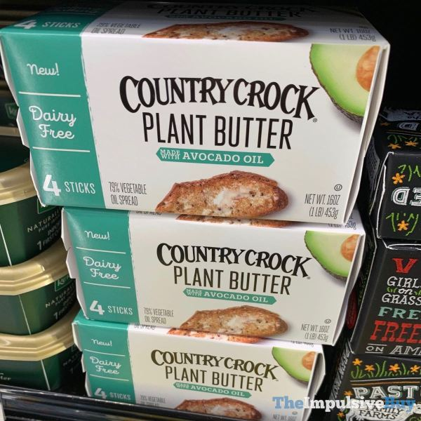 Country Crock Plant Butter Made with Avocado Oil