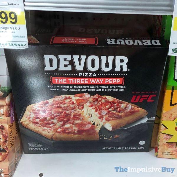 Devour Pizza Three Way Pepp x2