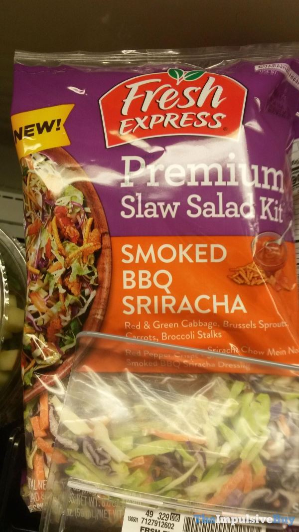 Fresh Express Premium Slaw Salad Kit Smoked BBQ Sriracha