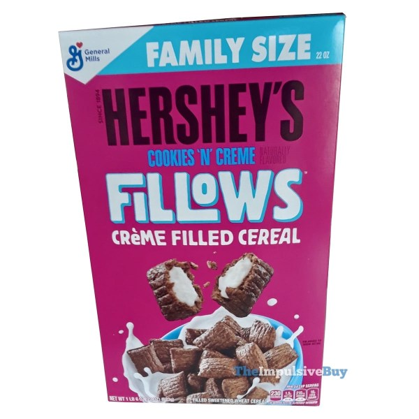 General Mills Fillows Hershey s Cookies  n Creme Cereal