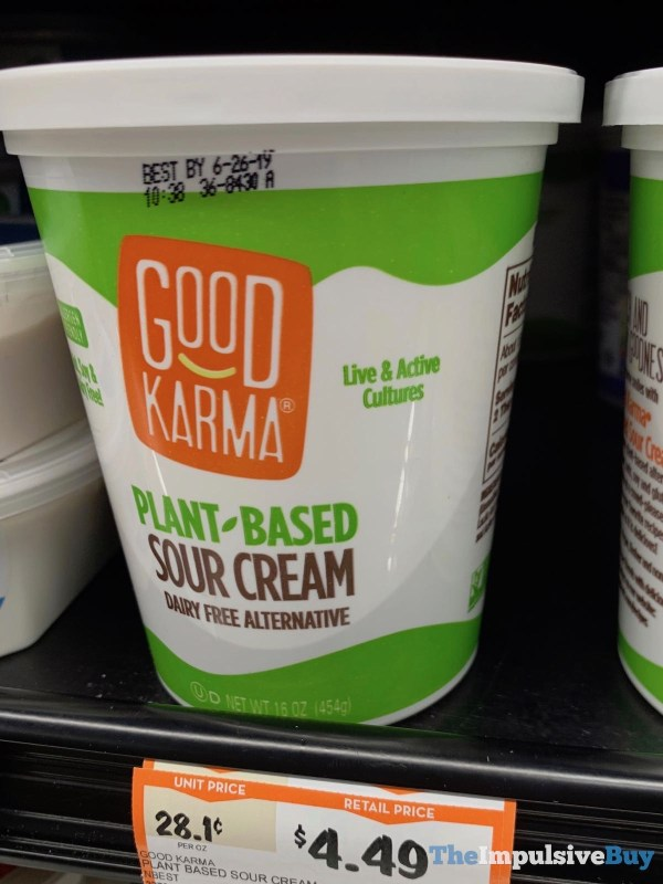 Good Karma Plant Based Sour Cream