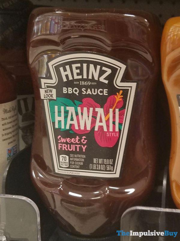 Heinz Hawaii Style BBQ Sauce  2019 Redesign