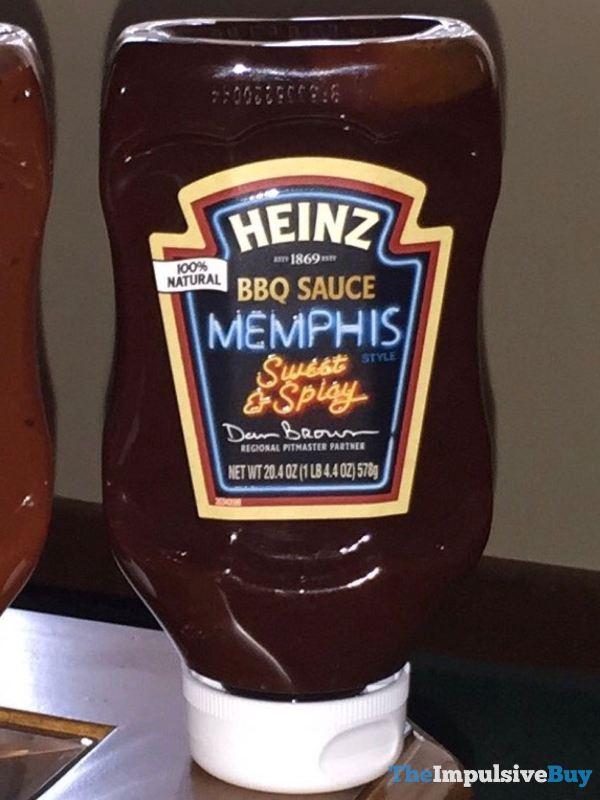 Heinz Memphis Style BBQ Sauce  2016 Design