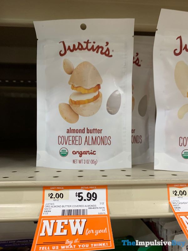 Justin s Almond Butter Covered Almonds