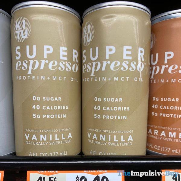 Kitu Vanilla Super Espresso