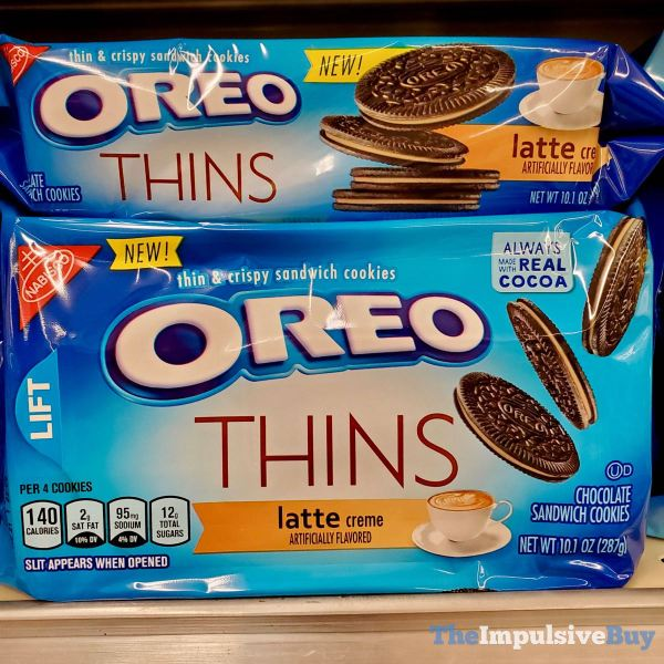 Latte Oreo Thins Cookies