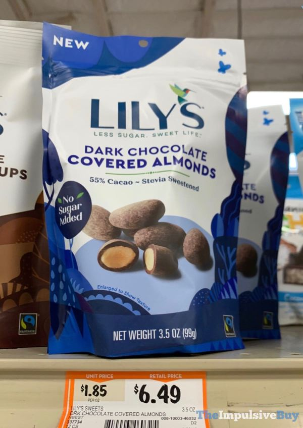 Lily s Dark Chocolate Covered Almonds