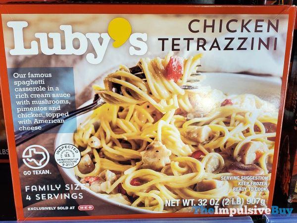 Luby s Chicken Tetrazzini