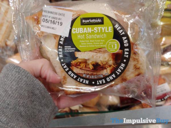 Marketside Cuban Style Hot Sandwich