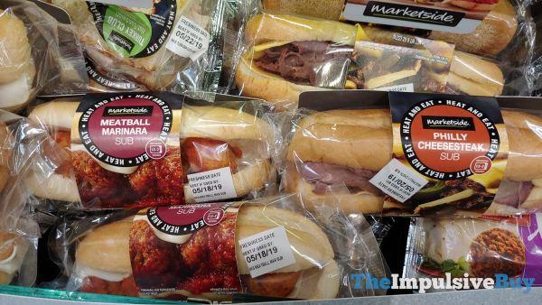 Marketside Meatball Marinara and Philly Cheesesteak Subs