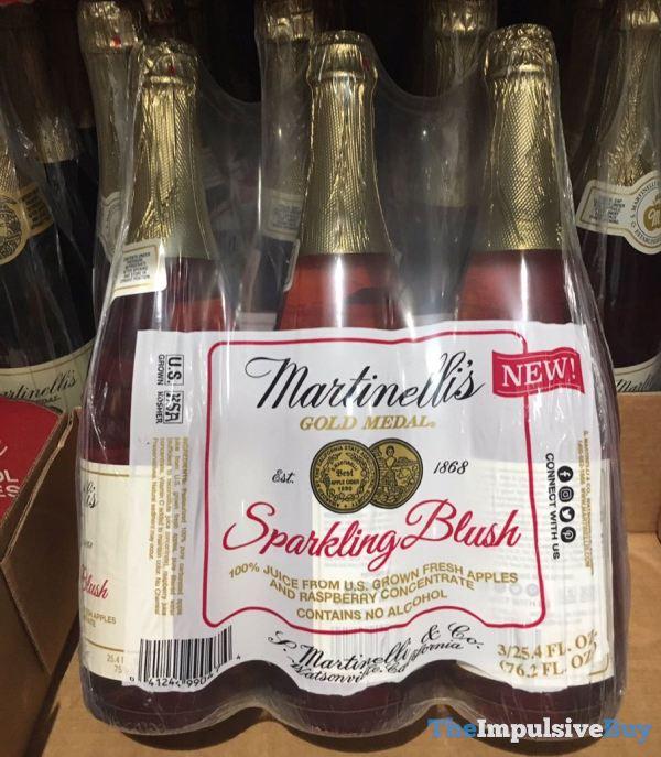 Martinelli s Sparkling Blush
