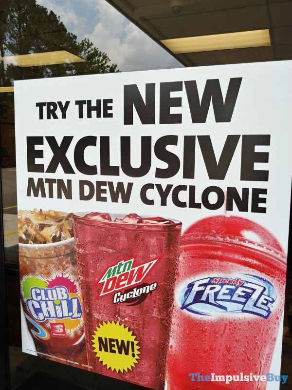 Mtn Dew Cyclone 2 Sign