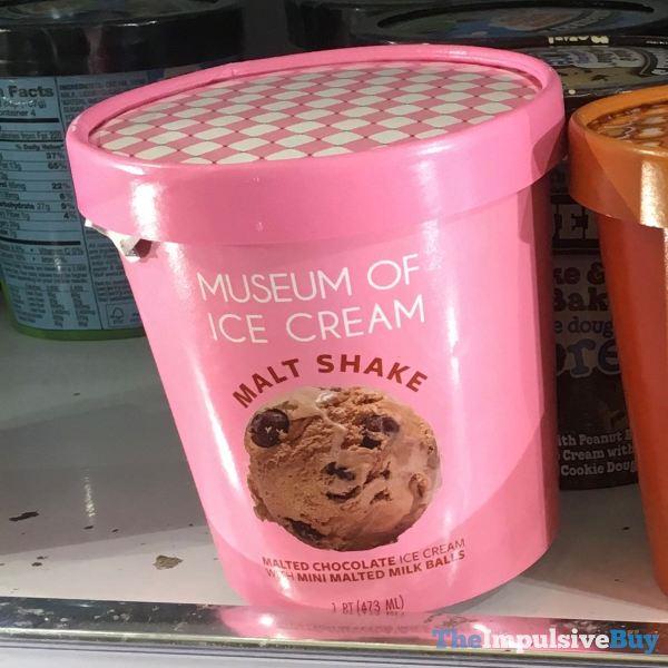 Museum of Ice Cream Malt Shake