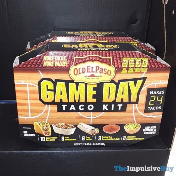 Old El Paso Basketball Game Day Taco Kit