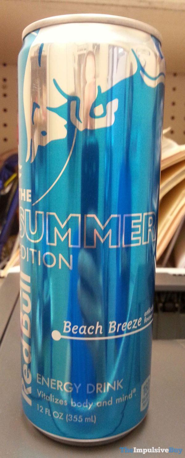 Red Bull Summer Edition Beach Breeze Energy Drink