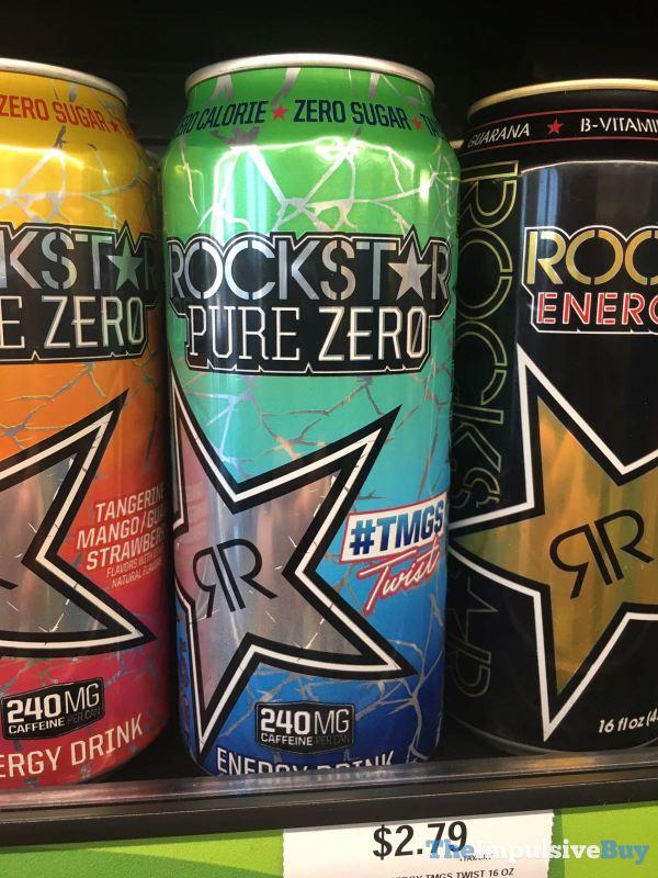 Rockstar Pure Zero TMGS Twist Energy Drink