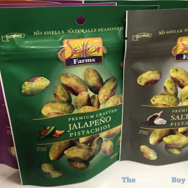 Setton Premium Crafted Jalapeno Pistachios