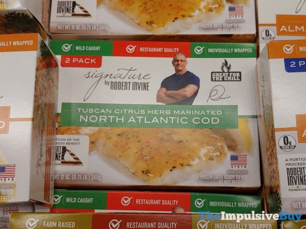 Signature by Robert Irvine Tuscan Citrus Herb Marinated North Atlantic Cod
