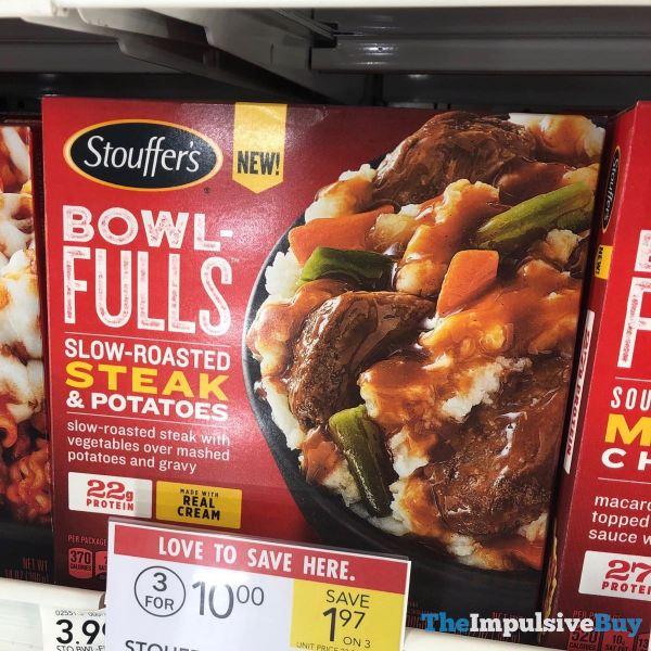 Stouffer s Bowlfulls Slow Roasted Steak  Potatoes