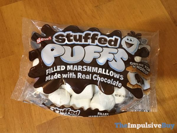 Stuffed Puffs Filled Marshmallows