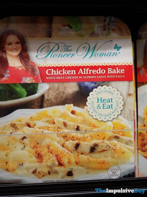 The Pioneer Woman Chicken Alfredo Bake