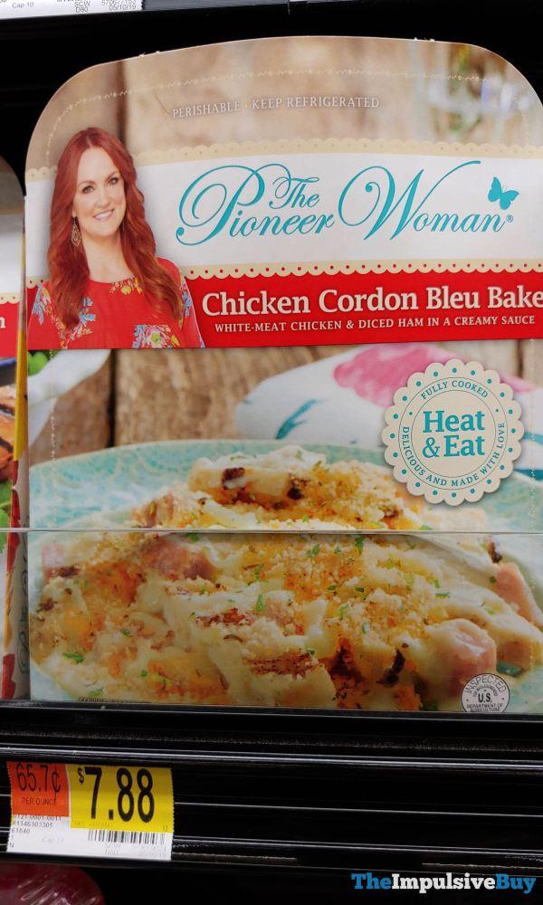 The Pioneer Woman Chicken Cordon Bleu Bake
