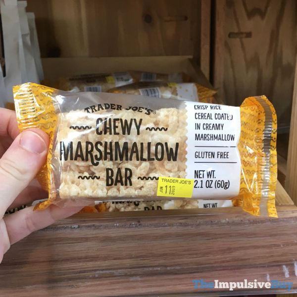 Trader Joe s Chewy Marshmallow Bar
