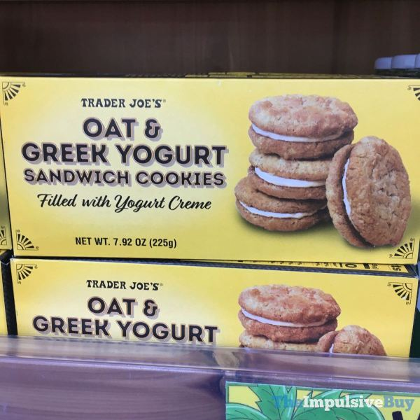 Trader Joe s Oat  Greek Yogurt Sandwich Cookies